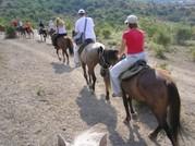 Конные походы в Горном Алтае. База отдыха Лазурит. Маршрут.