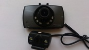 Видеорегистратор CarCam Corder две камеры, перед-зад, с функцией парковки.