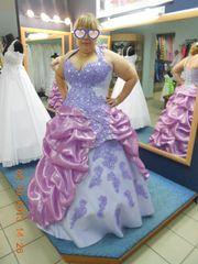 Свадебное платье(было изготовлено под заказ).